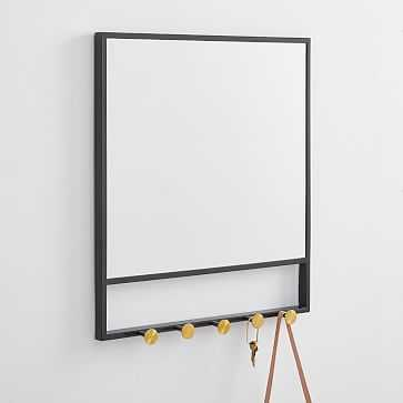 Floating Lines Wall Mirror - West Elm