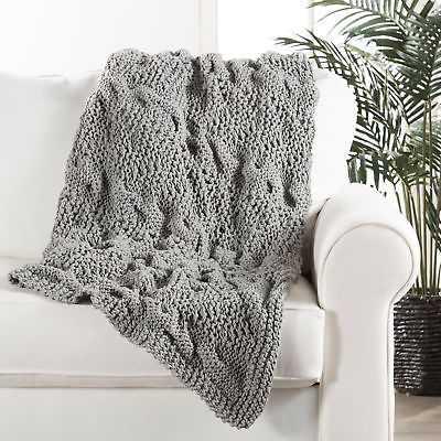 Darby Home Co Greta Handloom Transitional Cotton Throw Blanket: Gray - eBay