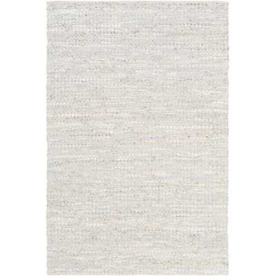 Schultz Silver Gray 8 ft. x 10 ft. Area Rug - Home Depot