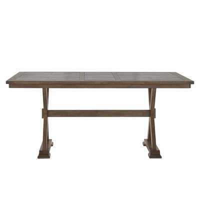 Gertz Trestle Base Dining Table - Wayfair
