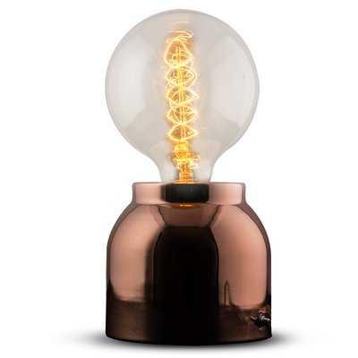 """Esmont Metal 10"""" Table Lamp - Wayfair"""