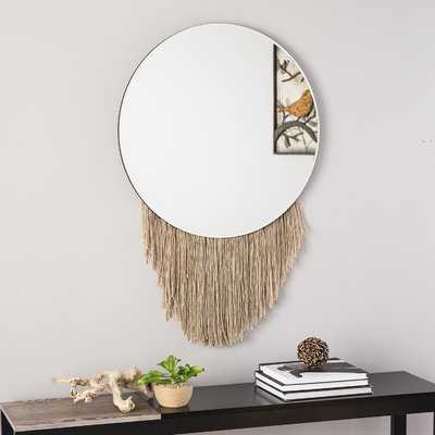 Lance Wall Mounted Mirror - Wayfair