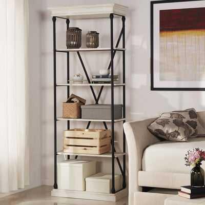 Poynor Etagere Bookcase - Wayfair