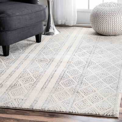 Keagan Gray Area Rug - Wayfair
