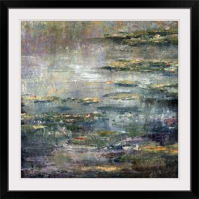 'Twilight Lillies' Alexys Henry Painting Print - AllModern
