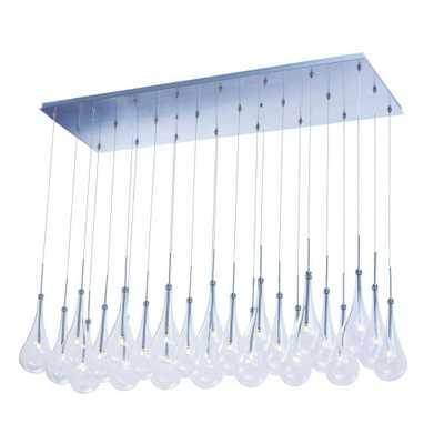 CLI Larmes 24-Light LED Pendant - Home Depot