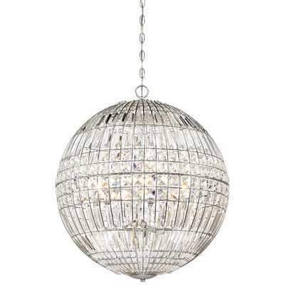 Palermo 6-Light Crystal Chandelier - Wayfair