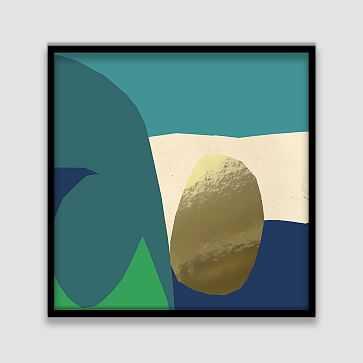 The Arts Capsule Framed Print, Stream Bed - West Elm