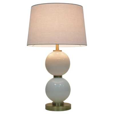 Glass Table Lamp with Touch On/Off White (Includes Cfl bulb) - Pillowfort - Target