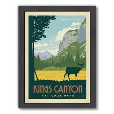 Kings Canyon National Park Framed Vintage Advertisement - Wayfair