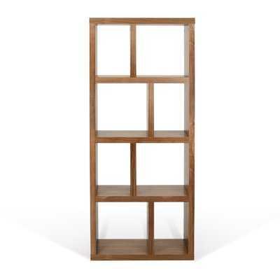 Varga 4 Level Geometric Bookcase - Wayfair