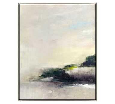 """Gray Evening Horizon Framed Canvas, 33 x 41"""" - Pottery Barn"""