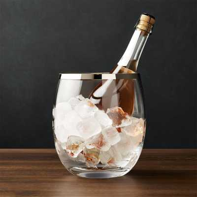 Pryce Champagne/Ice Bucket - Crate and Barrel