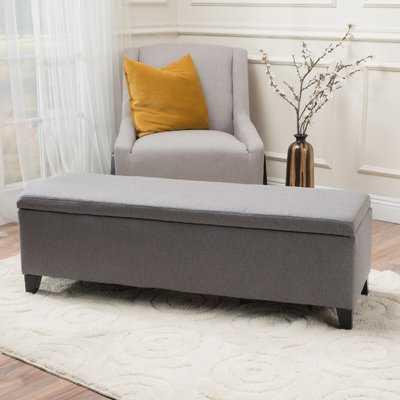 Schmit Upholstered Storage Bench - Wayfair