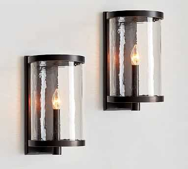 Murano Sconce, Set of 2 - Pottery Barn