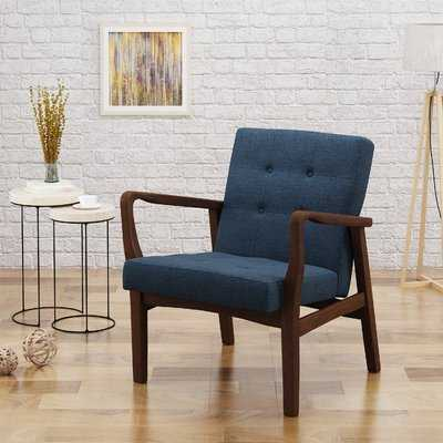 Beckham Armchair-navy - Wayfair