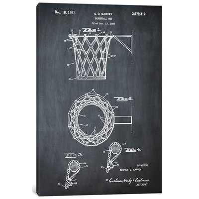 'G.D. Garvey Basketball Net' Graphic Art Print on Canvas - Wayfair