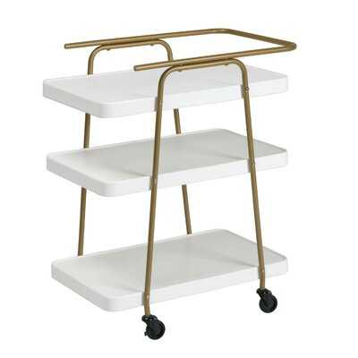 Corinne 3 Tier Bar Cart - AllModern