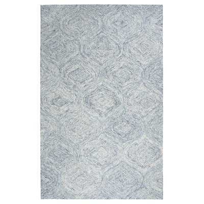 Marsh Hand-Tufted Blue Area Rug - Wayfair