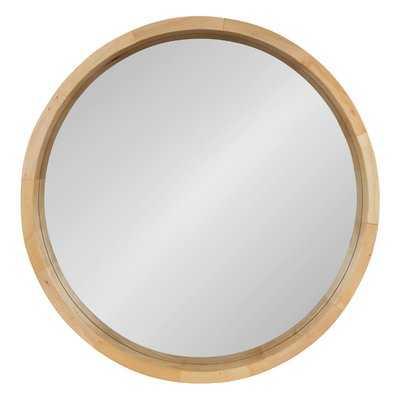 Loftis Round Modern & Contemporary Accent Mirror - Birch Lane