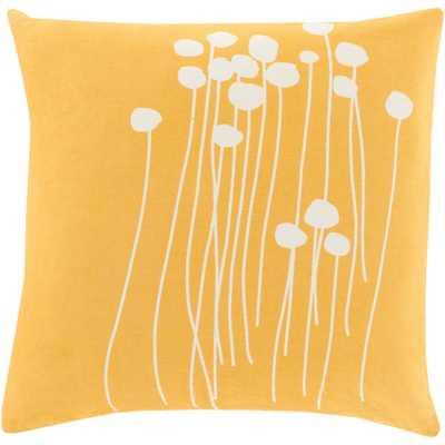Alyssa Poly Euro Pillow, Yellows/Golds - Home Depot