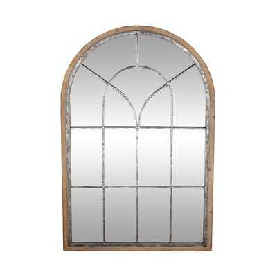 Gatton Rustic Arched Accent Mirror - Wayfair