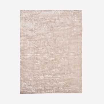 Lucent Rug, Dusty Blush, 9'x12' - West Elm