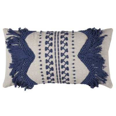 Edmee Cotton Lumbar Pillow - Wayfair