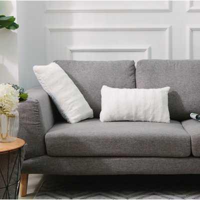 Grubbs Faux Fur Lumbar Pillow - Wayfair
