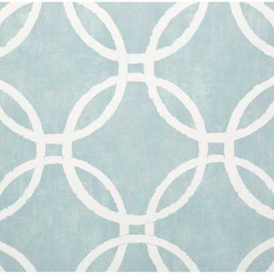 30.75 sq. ft. Blue Links Peel and Stick Wallpaper - Home Depot