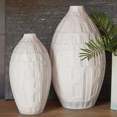 Coliseum Floor Vase - Wayfair