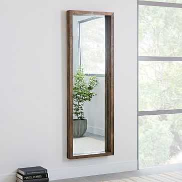 Emmerson(R) Modern Reclaimed Wood Floor Mirror - West Elm