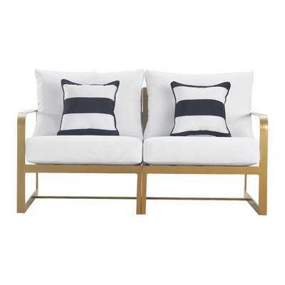Mirabelle Patio Sofa with Cushion - AllModern