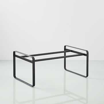 Yamazaki Home Frame Slim Shoe Rack, Black - West Elm