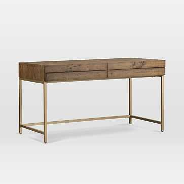 Reclaimed Pine Workstation - West Elm