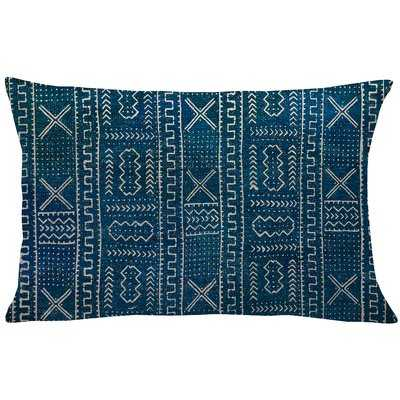 Mollica Mud Cloth Linen Lumbar Pillow - Wayfair