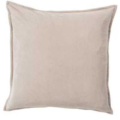 Bradford Smooth 100% Cotton Velvet Throw Pillow - Birch Lane