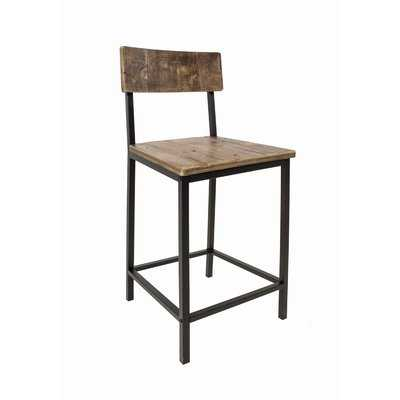 Burton Bar Stool (Set of 4) - Wayfair