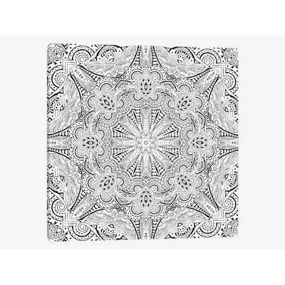 Mandala Series: Moroccan Sea II Graphic Art on Wrapped Canvas - Wayfair