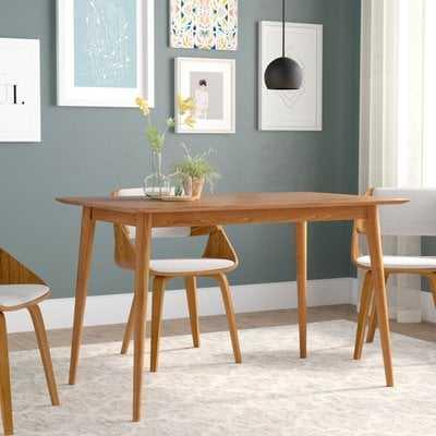 Goodyear Mid Century Modern Wood Dining Table - Wayfair