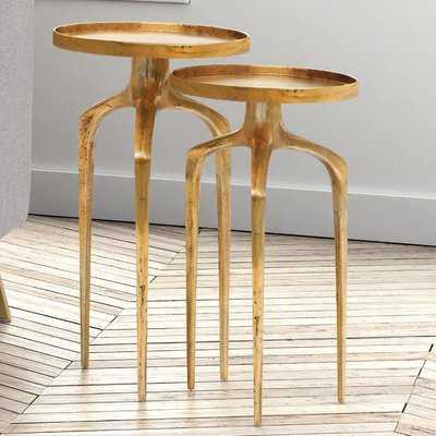 Rosborough 2 Piece Nesting Tables - Wayfair