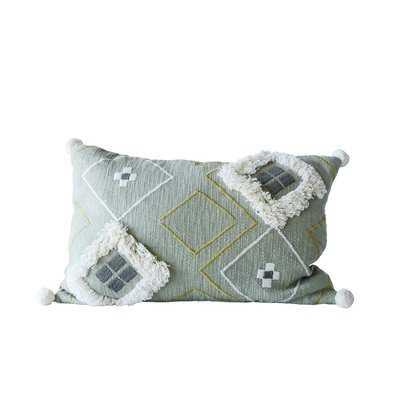 Eita Cotton Lumbar Pillow - AllModern