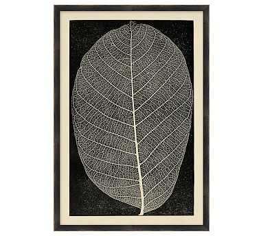 Leaf Detail 4 - 15 x 22 - Pottery Barn