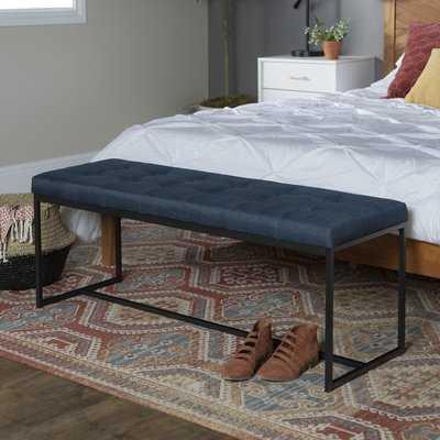 """Mardell 48"""" Upholstered Bench - Wayfair"""