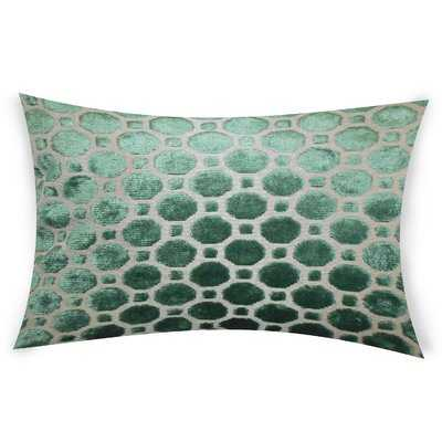Ogata Velvet Lumbar Pillow - AllModern