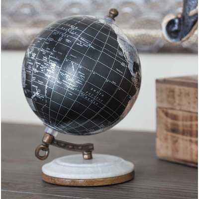 Marble and Resin Globe - Birch Lane