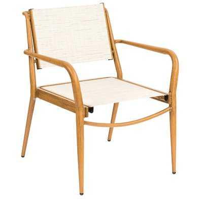 Daytona Sling Stacking Patio Dining Chair (Set of 4) - AllModern