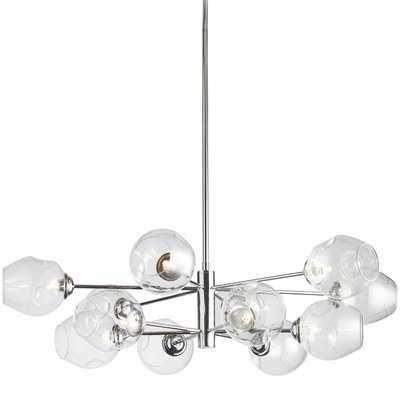 Cassana 12-Light Sputnik Modern Linear Chandelier - AllModern