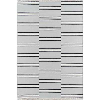 Erin Gates by Momeni Thompson Union Grey 5 ft. X 7 ft. 6 in. Area Rug - Home Depot