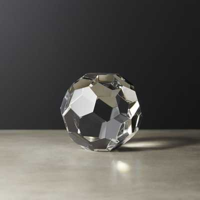 Andre Small Crystal Sphere - CB2